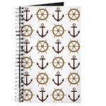 Anchor Nautical Tan Journal