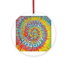 Love-Peace-Haight Ornament (Round)
