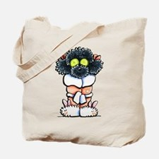 Spa Poodle Tote Bag