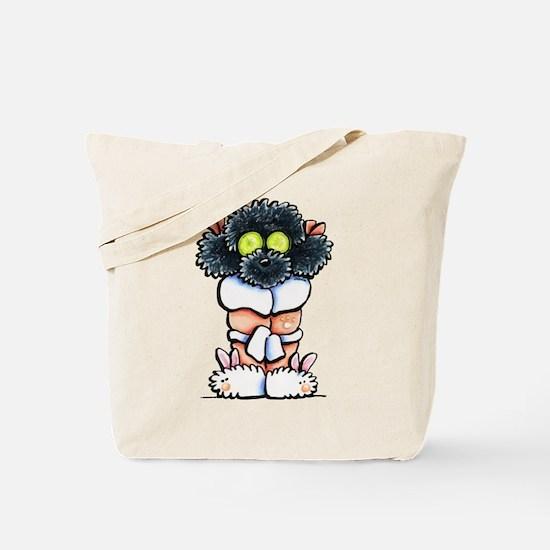 Spa Poodle Tote Bag
