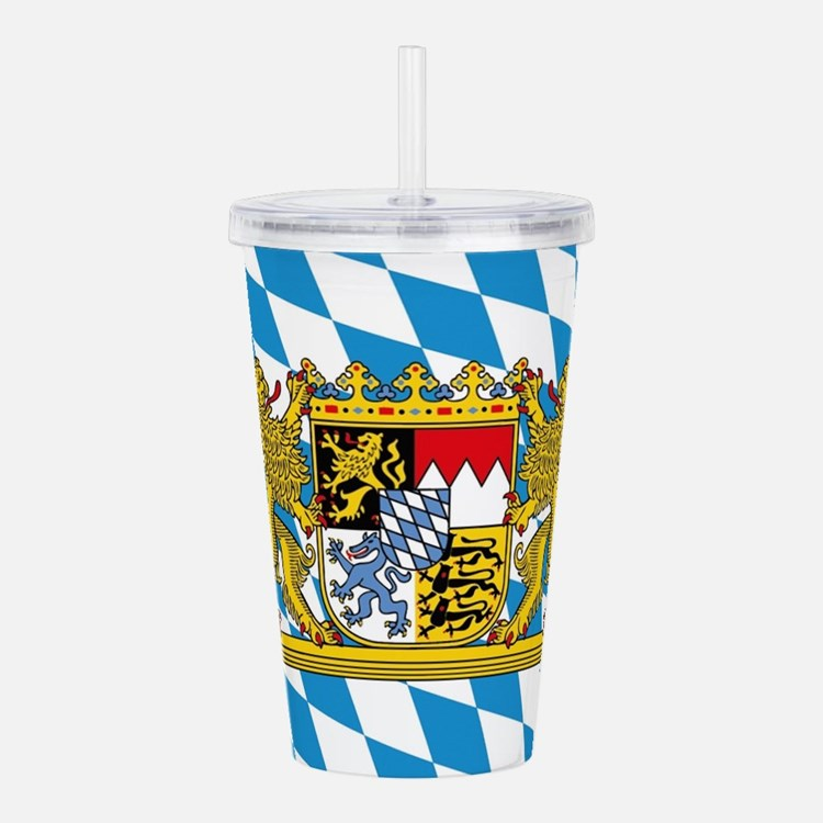 Cute Bayern munich Acrylic Double-wall Tumbler