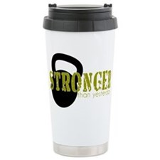 Cute Kettlebell Travel Mug