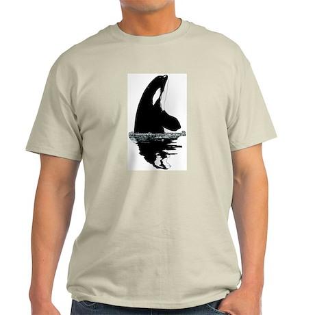 Orca Killer Whale Light T-Shirt