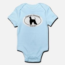 AFGHAN HOUND OVAL Body Suit