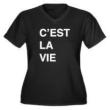 C'est La Vie Plus Size T-Shirt