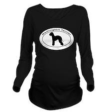 BEDLINGTON TERRIER Long Sleeve Maternity T-Shirt