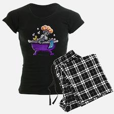 Schnauzer Bath Pajamas