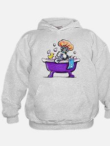 Schnauzer Bath Hoodie