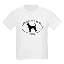 BLACK and TANS RULE T-Shirt