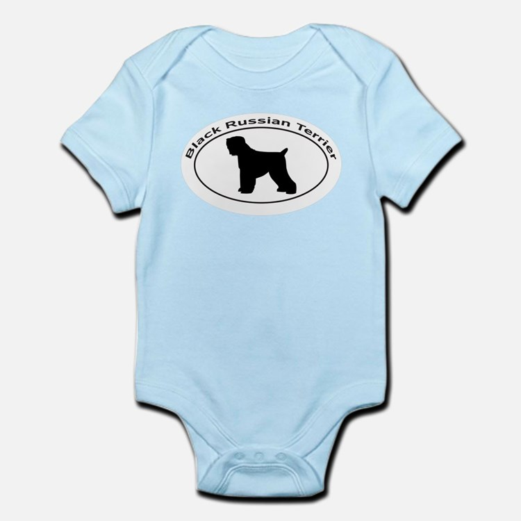 BLACK RUSSIAN TERRIER Infant Bodysuit