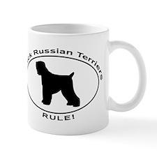 BLACK RUSSIAN TERRIERS RULE Mugs