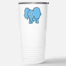 Unique Blue elephant Travel Mug