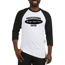 Pro Burger And Fries eater Baseball Jersey