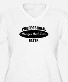 Pro Burger And Fries eater T-Shirt