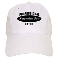 Pro Burger And Fries eater Baseball Cap