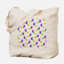 Cute Color image Tote Bag
