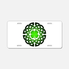 Clover knot Aluminum License Plate