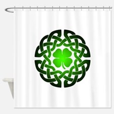 Clover knot Shower Curtain