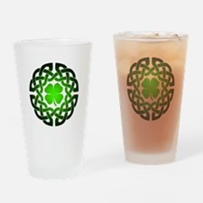 Clover knot Drinking Glass
