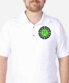Clover knot Golf Shirt