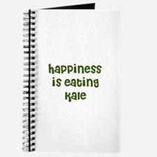 happiness is eating kale Journal