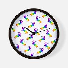 Funny Salamander Wall Clock