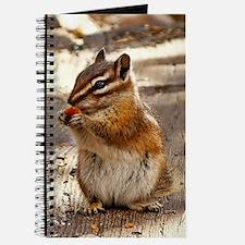 Cute Chipmunks Journal