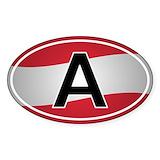 Austrian flag Auto