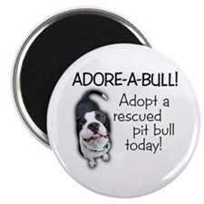 Adore-A-Bull! Pit Bull Magnet