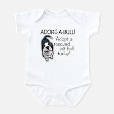 Adore-A-Bull! Pit Bull Infant Creeper