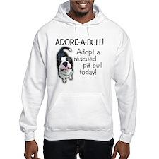 Adore-A-Bull! Pit Bull Hoodie