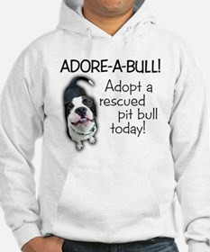 Adore-A-Bull! Pit Bull Hoodie