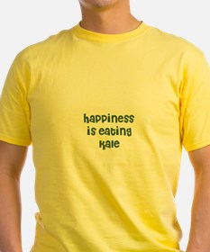 happiness is eating kale T