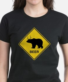 Beer bear deer  Tee