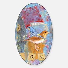 Infinite Love andGratitude Sticker (Oval)