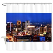 Downtown Birmingham, AL Shower Curtain