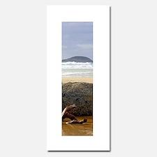 Tranquility Deserted Beach Scene for Meditation In
