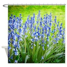 Wood Hyacinth Shower Curtain