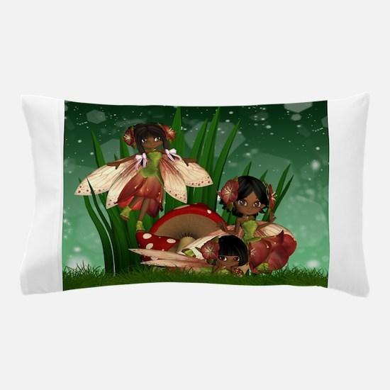 Cute Fairies art Pillow Case