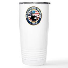 CVN-69 USS Eisenhower Travel Mug