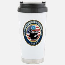 CVN-69 USS Eisenhower Travel Mug