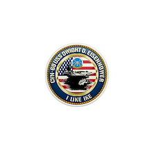 CVN-69 USS Eisenhower Mini Button (10 pack)