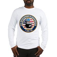 CVN-69 USS Eisenhower Long Sleeve T-Shirt