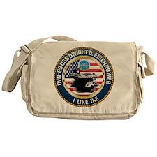 CVN-69 USS Eisenhower Messenger Bag