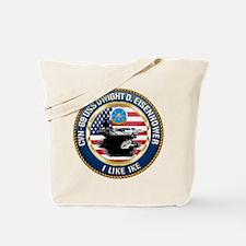 CVN-69 USS Eisenhower Tote Bag