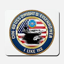 CVN-69 USS Eisenhower Mousepad