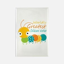 World's Greatest Child Rectangle Magnet (100 pack)