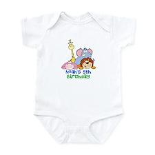 Kids Animal Bday Infant Bodysuit