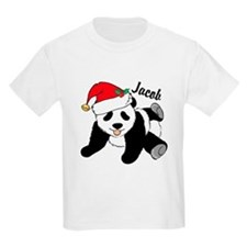 Christmas Panda Custom T-Shirt