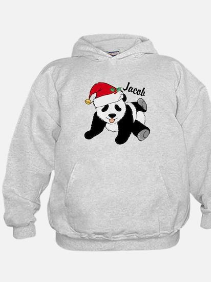 Christmas Panda Custom Hoodie